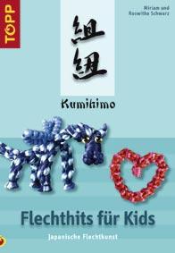 Buch für Kinder über das Flechten in Kumihimotechnik