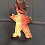 kleiner Bronze Teufel