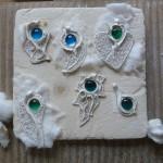 Glasfusing und Artclay Silber