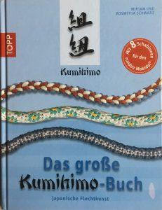 Buch zum Flechten von Kumihimo-Kordeln mit Musterschablonen