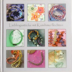 Buch über das Flechten in Kumihimo Technik mit Schablonen