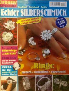 """Creativ Magazin """"Echter Silberschmuck"""""""