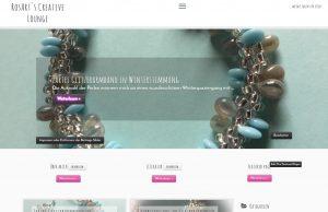 Screenshot des neuen Webseiten-Layouts