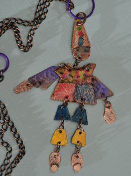 Harlekin-Mini-Marionette