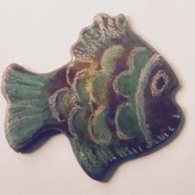 Kupferanhänger coloriert
