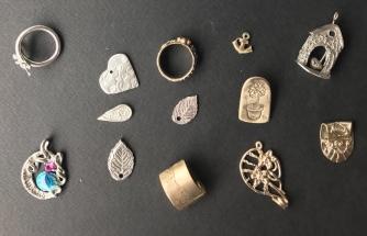 Anhänger mit verschiedenen Prometheus Bronzen