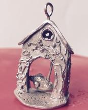 Anhänger Birthcage aus Prometheus Sterling Silber